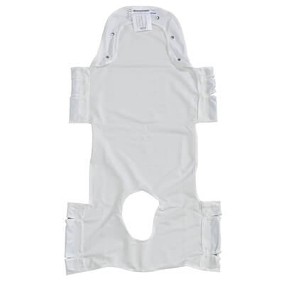 Drive Medical Patient Lift Commode Sling with Head Support and Pocket - Model 13231P