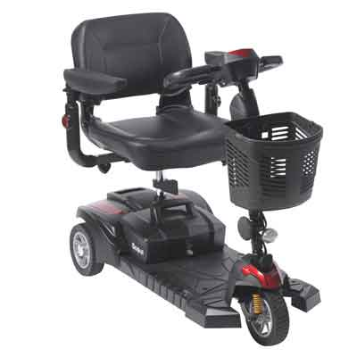 Drive Medical Scout DST 3-Wheel Travel Scooter scoutdst3