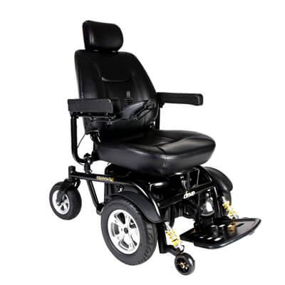 Drive Medical Trident HD Power Chair, 24 in Seat - Model 2850HD-24