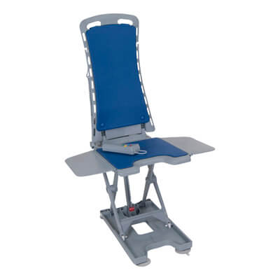 Drive Medical Whisper Ultra Quiet Bath Lift, Blue - Model 477150312