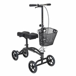 Drive Medical Dual Pad Steerable Knee Walker with Basket 796