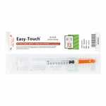 Easy Touch 29 Gauge 1 cc 1/2 in Retractable Insulin Safety Syringe w/ Fixed Needle 1 ea 862915 Expires March 2018