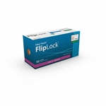 Easy Touch FlipLock Safety Needles 50ct 21G  25mm, 1 in 812101