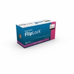 Easy Touch FlipLock Safety Needles 50ct 22G  25mm, 1 in 812201