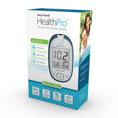 Easy Touch HealthPro Glucose Monitoring System