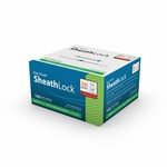 Easy Touch SheathLock Safety Insulin Syringe w/ Fixed Needle 100ct 29G 1 mL 12.7mm, 1/2 in 832915