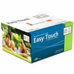 Easy Touch 29 Gauge 1 cc 1/2 in Insulin Syringes - 100 ea