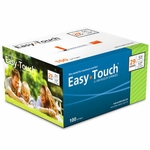 Easy Touch 29 Gauge 0.5 cc 1/2 in Insulin Syringes - 100 ea