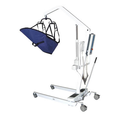 Drive Medical Electric Patient Lift with Removable Rechargeable Battery 13242