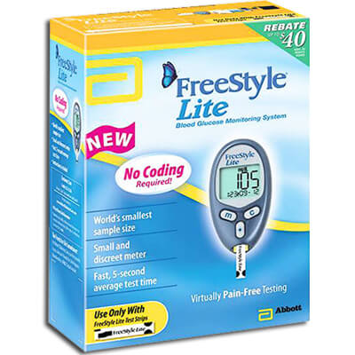 FreeStyle Lite Blood Glucose Monitoring System - 1 ea