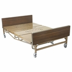 Drive Medical Full Electric Super Heavy Duty Bariatric Hospital Bed with T Rails 15303bv-1hr