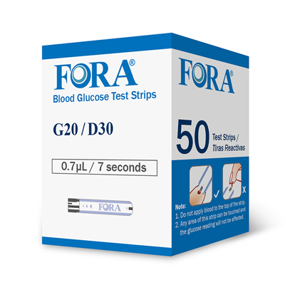 G20 Blood Glucose Test Strips 50ct