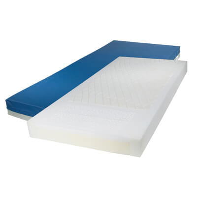 Drive Medical Gravity 7 Long Term Care Pressure Redistribution Mattress with Elevated Perimeter 15777