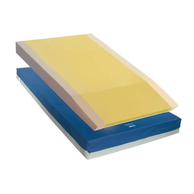 Drive Medical Gravity 9 Long Term Care Pressure Redistribution Mattress with Elevated Perimeter 15977