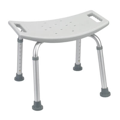 Drive Medical Grey Bathroom Safety Shower Tub Bench Chair rtl12203kdr
