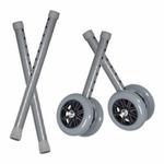 Drive Medical Heavy Duty Bariatric 5 in Walker Wheels with Extension Legs