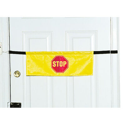 Drive Medical High Visibility Door Alarm Banner with Magnetically Activated Alarm System Model 13098