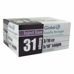 Inject Ease 31G .3cc 5/16 in Insulin Syringe