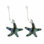 Island Sense Abalone Shell Starfish Earrings