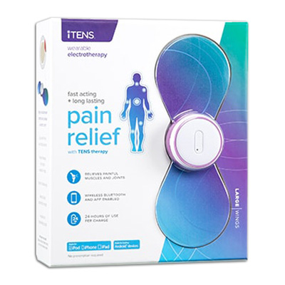 iTENS - TENS Unit Large Wings Blue