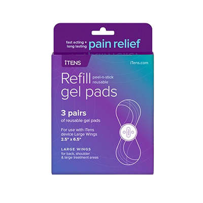 iTENS - TENS Unit replacement Large Wing Gel