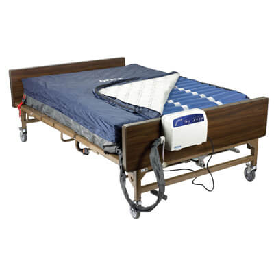 Drive Medical Med Aire Bariatric Heavy Duty Low Air Loss Mattress Replacement System 14054