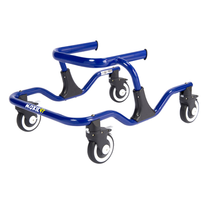 Moxie GT Gait Trainer Small Warrior Blue - Drive Medical - GT1000-2GB
