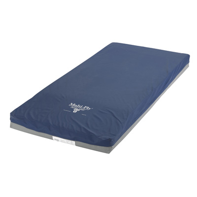Drive Medical Multi-Ply Dynamic Elite Pressure Redistribution Foam Mattress 80 Inch Elevated Perimeter 6500-de-2-rr-fb