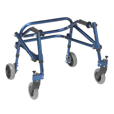 Nimbo 2G Lightweight Posterior Walker Extra Small  Knight Blue - Drive Medical - KA1200-2GKB