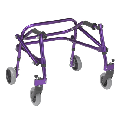 Nimbo 2G Lightweight Posterior Walker Extra Small Wizard Purple - Drive Medical - KA1200-2GWP