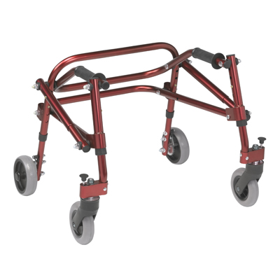 Nimbo 2G Lightweight Posterior Walker Small Castle Red - Drive Medical - KA2200-2GCR