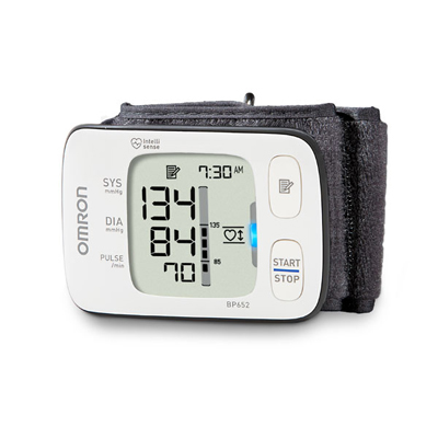 Omron 7 Series Wrist Blood Pressure Unit Model BP652N