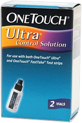 One Touch Ultra Control Solution - 2 vials