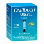 One Touch Ultra Blue Test Strips - 100 Strips
