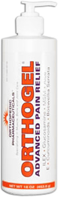 Orthogel Cold Therapy Pain Relief Pump - 16 oz