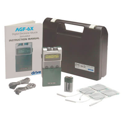 Drive Medical Portable Digital EMS with Timer and Carrying Case agf-6x