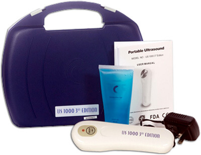 Roscoe Medical US1000 Portable Ultrasound Unit, 3rd Edition