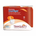 Premium OverNight Disposable Absorbent Underwear - Large - 2116