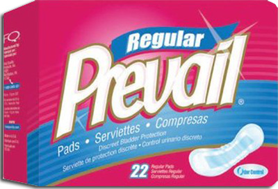 Prevail® Bladder Control Pads, Light 11 in - 198 cs (9x22ea)
