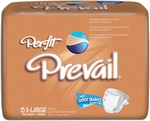 Prevail® Per-Fit Adult Brief, X-Large 59-64 in - 60 cs (4x15ea)