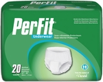Prevail� Per-Fit Protective Underwear, Medium 34-46 in - 80 cs (4x20ea)