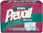 Prevail Premium Briefs, Small 20-31 - 96 cs (6x16ea)