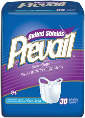 Prevail Xtra Abs Belted Undergarment, One Size - 120 cs (4x30ea)