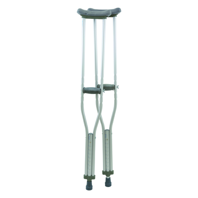 ProBasics Adult Aluminum Crutches 300 lb Weight Capacity CRA