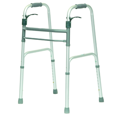 ProBasics Aluminum Adult Walker Trigger w/o wheels, 350 lb Weight Capacity WKAANSL