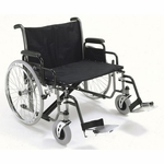 "ProBasics Extra Wide K0007 Wheelchair - 28"" x 20"" Seat"