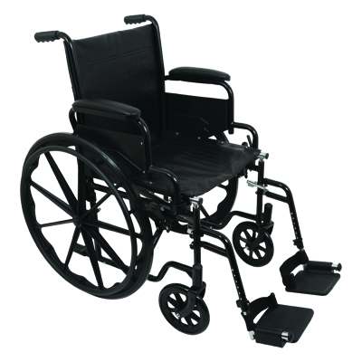 ProBasics K1 Standard Wheelchair, 16 in x 16 in WC11616DS