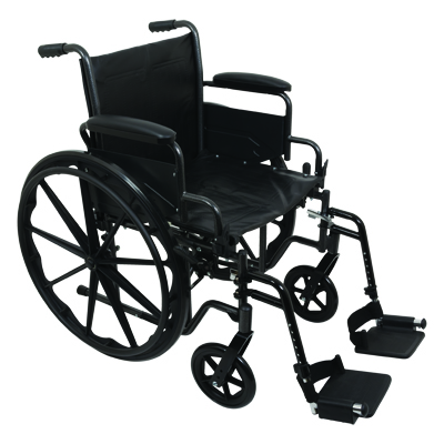 ProBasics K2 Standard Hemi Wheelchair, 16 in x 16 in WC21616DS
