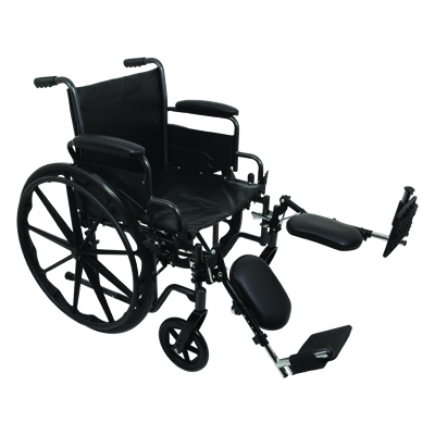 ProBasics K2 Standard Hemi Wheelchair, 18 in x 16 in WC21816DE