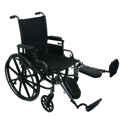 ProBasics K4 High Strength Wheelchair, 16 in x 16 in WC41616DS